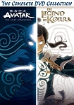Avatar and The Legend of Korra The Complete Series Collection