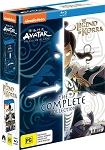Avatar The Last Airbender 1-3 + The Legend of Korra 1-4